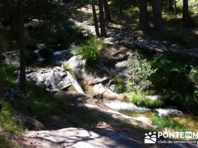 Las Pesquerías Reales - Senderismo Segovia (Ruta de las Pesquerías Reales); mapa senderismo